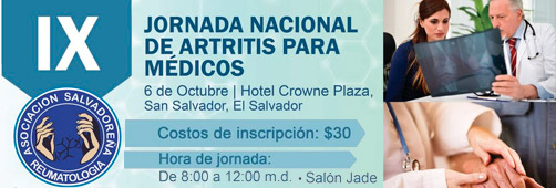 Jornada Nacional de Artritis para Médicos